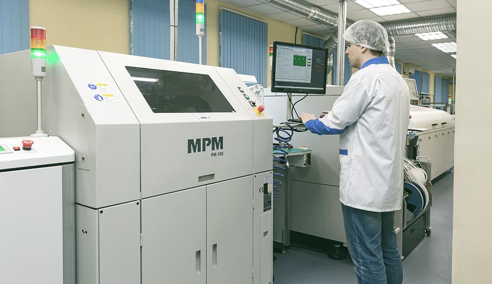 Трафаретный принтер Speedline technologies MPM 100 для поверхностного монтажа
