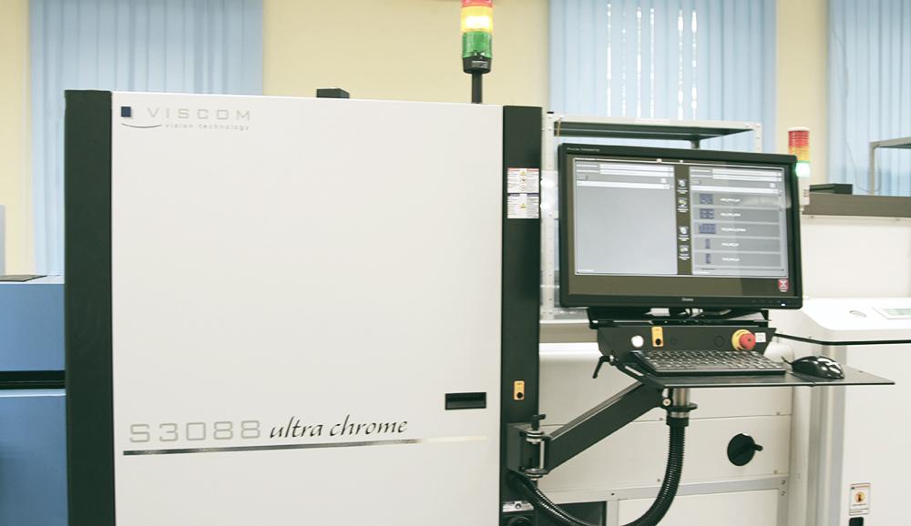 Автоматическая Оптическая 3D-инспекция S3088 Ultra Chrome VISCOM для линии поверхностного монтажа