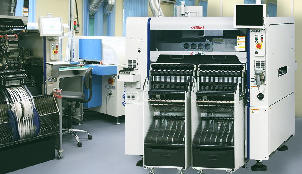 Автомат установки компонентов Yamaha YSM-10 для линии поверхностного монтажа