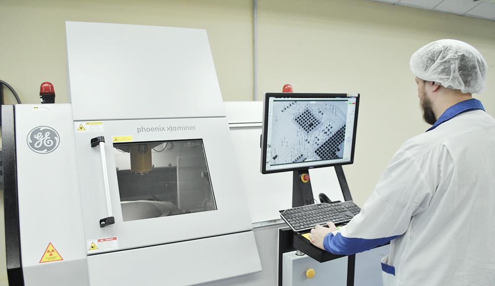Рентген-контроль электрокомпонентов